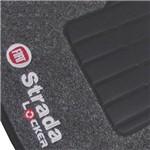 Jogo de Tapete Carpete Strada Adventure Locker 2013 Grafite - 5 Peças (personalizado)