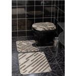 Jogo de Tapetes Banheiro Van Gogh Estampado 3pçs Direção