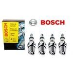Jogo de Velas Bosch Renault Megane Scenic Kangoo K4m Sp49