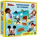 Jogo Educativo Conhecendo Formas Disney Junior Linha Madeira - Estrela