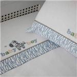 Jogo Lençol de Berço Colibri Zebra