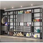 Jogo Modulado para Varanda Garagem Clothes Espresso - Be Mobiliário