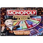 Jogo Monopoly Quebrando a Banca - Hasbro