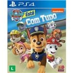 Jogo Patrulha Canina Está com Tudo - PS4