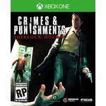 Jogo Sherlock Holmes Crimes And Punishments para Xbox One