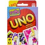 Jogo Uno Polly Pocket Mattel 2 a 10 Jogadores com 108 Cartas