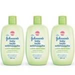 Johnsons Anti Mosquito Loção Hidratante Infantil 200ml (kit C/03)