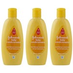 Johnsons Baby Condicionador 200ml (kit C/03)