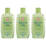 Johnsons Baby Lavanda Colônia 200ml (kit C/03)