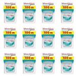 Johnsons Essencial Menta Fio Dental 100mts (kit C/12)