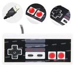 Joystick Controle Nes Nintendo Pc Usb Retro - Cr-009