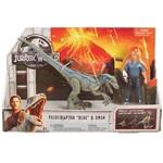 Jurassic World Conjunto Aventura Raptor Blue e Owen - FMM49 - Mattel