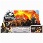 Jurassic World - Conjunto Aventura - Stygimoloch e Mercenário - Mattel FMY84
