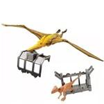 Jurassic WORLD Destrutosauros Pteranodon e Microceratus Mattel FTD09