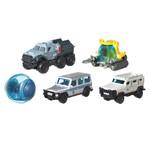 Jurassic World Matchbox Pacote com 5 Carros - Mattel