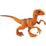 Jurassic World Velociraptor Laranja - Mattel