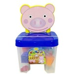 Kidverte Pig Blocos - Big Star