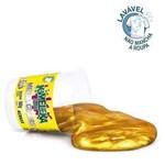 Slime Kimeleca Metálica C/12 180g Acrilex Lavavel Dourada