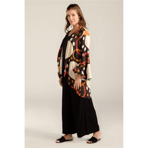 Kimono Tecido Sino Geométrico Kimono M/g Tecido Sino Geometrico Gouache