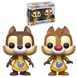 Kingdom Hearts Chip e Dale - Tico e Teco Disney - Funko Pop