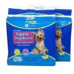 Kit 02 Pacotes de Tapete Higiênico para Cães com Gel Super Absorvente.