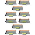 Kit 10 Toner Compatível Brother Tn720 Tn750 Dcp8110