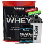 Kit 100% Pure Whey 850g + Creatina 300g - Atlhetica