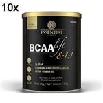 Kit 10X BCAALIFT 8:1:1 - 210g Neutro - Essential Nutrition