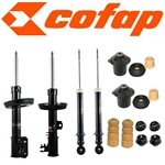 Kit 4 Amortecedores Vectra 1997 a 2005 + Coxim + Kits