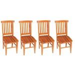 Kit 4 Cadeiras Mineira Madeira Maciça de Demolição