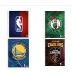 Kit 4 Caderno Universitário NBA Espiral 96 Folhas - Foroni
