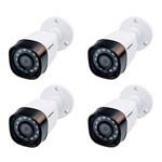 Kit 4 Camera Bullet MultiHD 720p VHD 1010 B G4 Intelbras