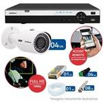 Kit 4 Câmeras de Segurança Full HD 1080p Intelbras VHD 3230 + DVR Intelbras Full HD 4 Ch + HD WD Pu