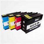 Kit 4 Cartuchos Tinta Similar Hp 932xl 933xl Compativel Hp 6100 7100a 7110 7610