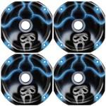 Kit 4 Corneta Curta Lc 14-50 Rosca Grafitada Pânico Azul