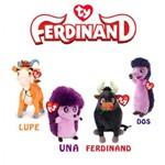 Kit 2 Pelucia Ferdinando Ty Una, Lupe
