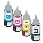 Kit 4 Tintas L200 | L355 Epson Bulk Ink Original 70ml
