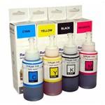 Kit 4 Tintas para Epson Bulk Ink L575 Cmyk 70ml Premium