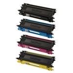 Kit 4 Toner Brother Hl 4040 | Mfc 9440 | Mfc 9840 | Dcp 9045 | Tn 110 | Tn 115 Cmyk Compatível