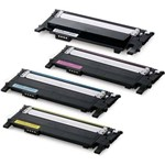 Kit 4 Toner Similar CLT-406s 406 Compativel CLP-365w CLX-3305w Xpress SL-C460fw