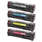 Kit 4 Toner Similar Hp 305A Compativel Pro 300 M375nw 400 M451nw M475dw M475dn