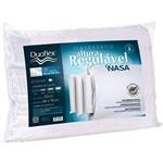 Travesseiro Duoflex Nasa Regulavel RN1100+Capa Imperm