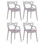 KIT - 4 X Cadeiras Masters Allegra - Fendi