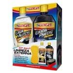 Kit 4em1 Luxcar Limpeza Externa