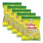 Kit 5 Balas Pocket Milho Verde 500g - Riclan
