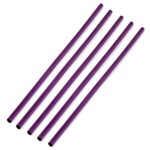 Kit 5 Canudos Ecológicos - Reto -alumínio Anodizado - Lilás