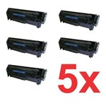 Kit 5 Toner Hp 12a