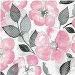 Guardanapo Decoração Flores Aquarelas Gua200408 - Toke e Crie