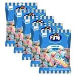 Kit 5 Marshmallows Torção Coloridos 250g - Fini