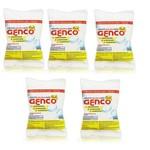 Kit 5 Pastilha de Cloro Multiação 3 em 1 para Piscina Genco